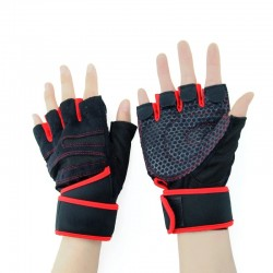 Workout Rowing Fitness Exercise Gym Gloves Weight Lifting Gloves