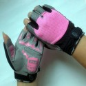 Custom Bicycle Cycling Half Finger Gloves for Gym