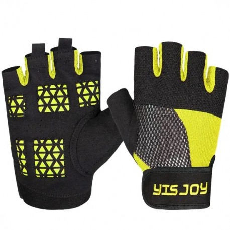 Fingerless Black Color Leather Workout Weight Lifting Gloves Custom New Fitness Gym Training Gloves Manufacture