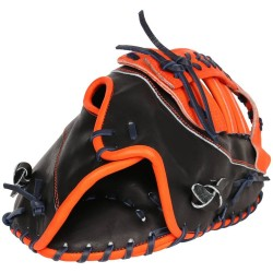 12 inch Baseball First Base Mitt custom logo black leather baseball gloves