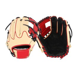 11.75 inch Baseball Glove professional blonde kip leather baseball infielding gloves