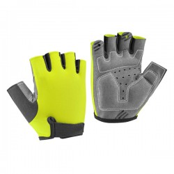 Summer mens Half finger bicycle gloves anti shock cycling gloves