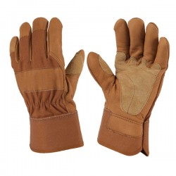 Men's Top Grain cowhide Leather Safety Work Gloves welding gloves