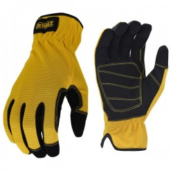 Mechanic Glove with form fitting  Nubuck Palm w/ 5mm Foam Pad