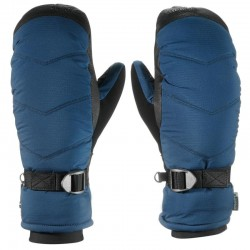 Adult ski mitten men's navy mitten warm ski gloves