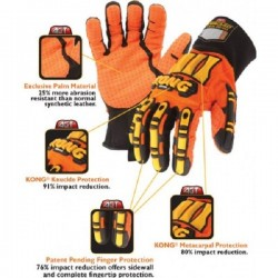 Oil & Gas Industry Impact Hi-Vis Gloves