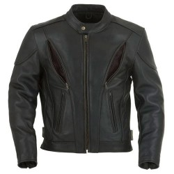 Panther Classic Leather Motorcycle Jacket
