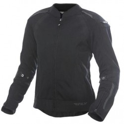 Women's Black Mesh Jacket