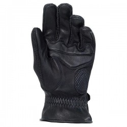Mens Leather/Textile Gloves