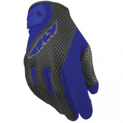 Men's Blue/Black Textile Gloves