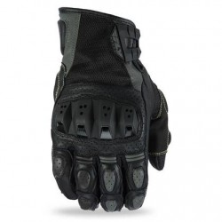 Men's Gunmetal Motocross Gloves