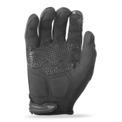 Men's Black Textile Gloves