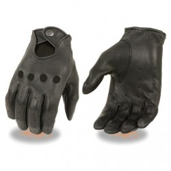 Ladies Leather Unlined Proffesional Driving Gloves