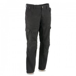Men's Armored Black Cargo Jeans