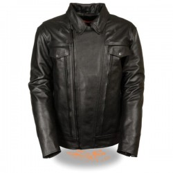 Men's High End Utility Pocket Vented Cruiser Jacket