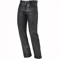 Leather Jeans Ladies - Black