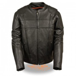Men's Side Stretch Vented Scooter Jacket