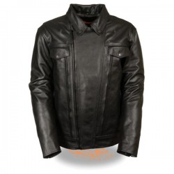 Men's Utility Pocket Vented Cruiser Jacket