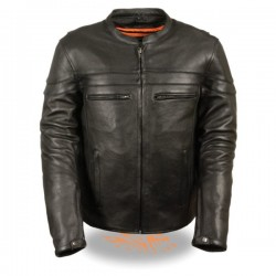 Men's Sporty Scooter Crossover Jacket