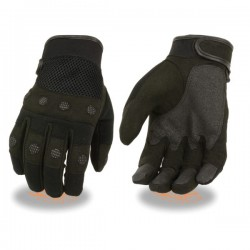 Men's Padded Knuckle Mechanics Glove w/ Amara Palm