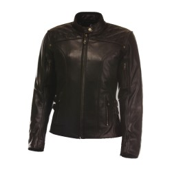 Jennis- motorcycle leather jacket woman
