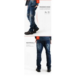 Jeans Leisure Style Pants Motorcycle Motocross Pants Motorcycle Pants With CE Knee