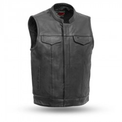 Shooter - Men's Motorcycle Leather Vest