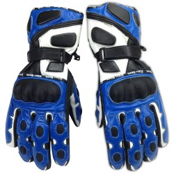 Genuine Leather Motorcycle Gloves