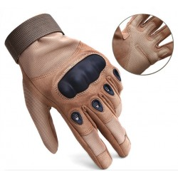 2019 Brown Power Men Military Gloves/Tactical Gloves