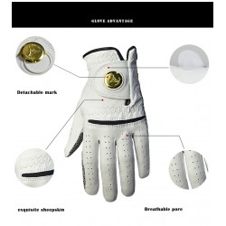 Leather Golf Glove  for Man