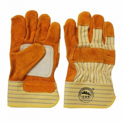 Safety Leather Working Gloves with CE