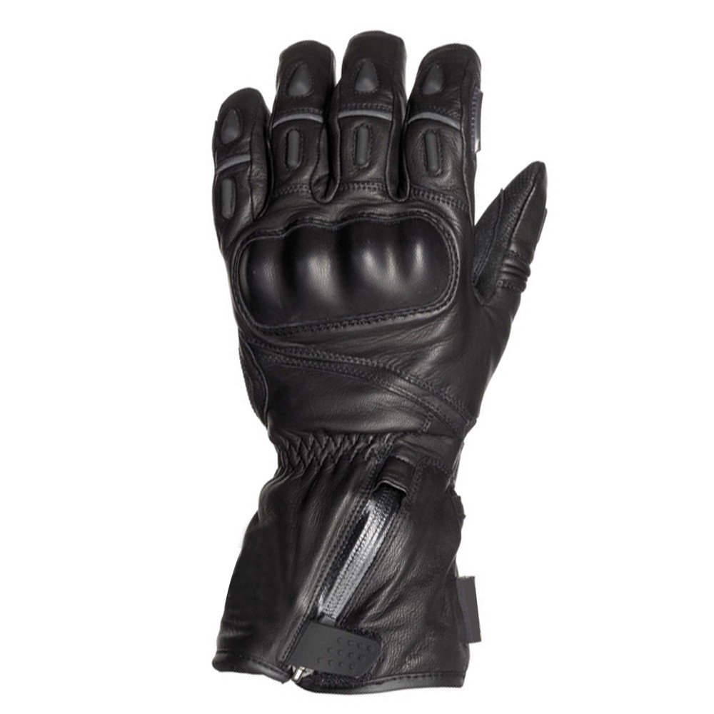 Leather Gloves Weight lifting gloves Cycling Motorbike Rider Biker Black Gloves