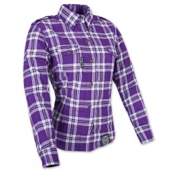 Women's Panther Purple/White Flannel Jacket