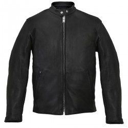 Scooter Black Leather Jacket