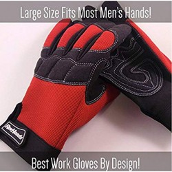 Mechanics Style Large Work Glove