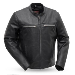 Rockero - Men's Motorcycle Leather Jacket