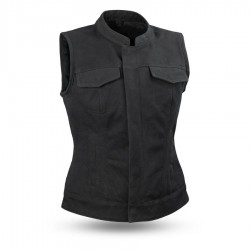 womens Canvas vest
